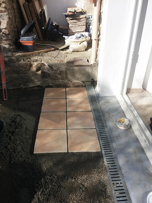 Rénovation terrasse